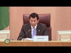 مجلس وزراء الشباب والرياضة العرب الدورة (42) – كلمة الرئاسة السابقة